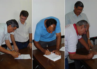 Três entidades assinam convênios que somam R$ 205 mil