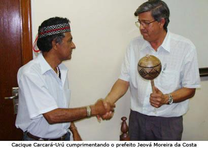 Jeová quer doar área de preservação especial para comunidade indígena