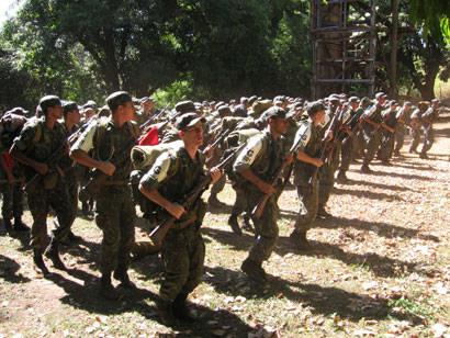 Tiro de Guerra realiza marcha à pé e atividades práticas no Barreiro