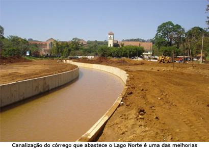 Conclusão da urbanização do Lago Norte está prevista para outubro