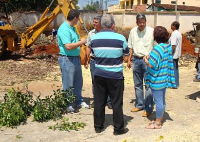 Prefeitura inicia construção de piscina olímpica na Escola Padre Anacleto Giraldi