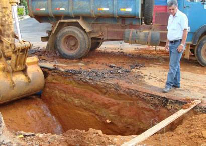 Setor Leste recebe obras de água pluvial para evitar problemas com a chegada das chuvas