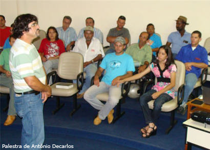 Especialistas promovem palestras sobre fruticultura na Ampla