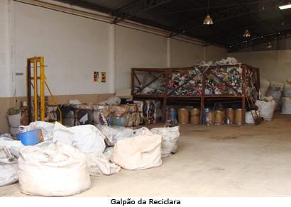 Catadores de materiais recicláveis vão receber qualificação profissional