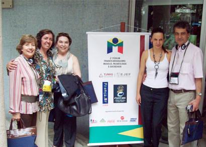 FCCB marca presença no Fórum Franco-Brasileiro de Museus