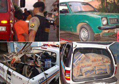 Mais de 100 objetos furtados são apreendidos pela Polícia Militar