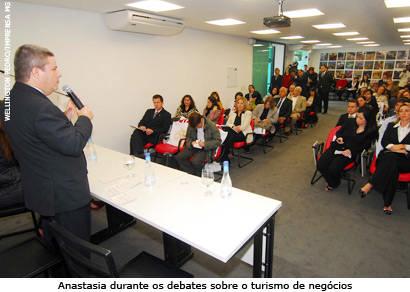 Turismo de Araxá é representado durante workshop em São Paulo
