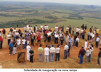 Nova rampa de voo livre do Horizonte Perdido é inaugurada