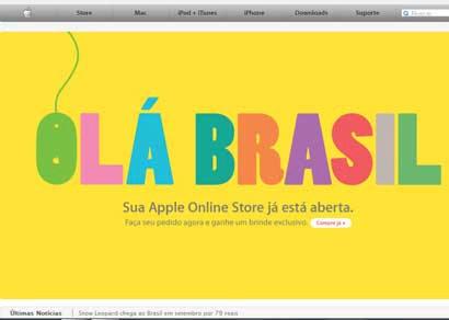 Apple Store Brasil inaugura oficialmente