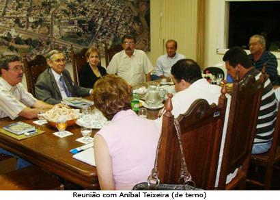 Ex-ministro é convidado para desenvolver vocação turística de Araxá