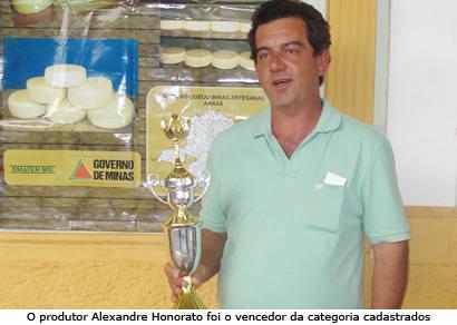Araxaense vence Concurso Regional do Queijo Minas Artesanal