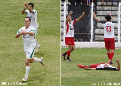 GEF e Vila Nova estão na final do Campeonato Amador