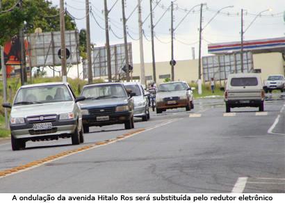 DER anuncia implantação de redutores eletrônicos em Araxá