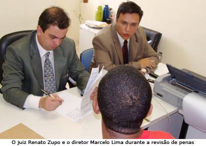 Poder Judiciário revisa penas de todos os detentos do Presídio de Araxá