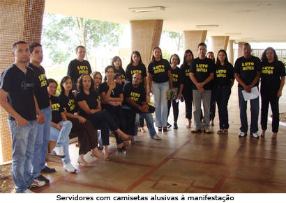 Servidores do Judiciário de Araxá aderem à paralisação nacional