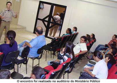PRF, Promotoria e imprensa debatem a criminalidade sexual infanto-juvenil