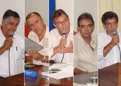 Vereadores questionam prefeito sobre permuta do Fausto Alvim