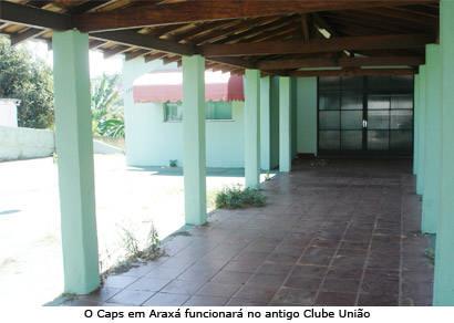 Implantação do Centro de Atendimento Psicossocial em Araxá é adiada
