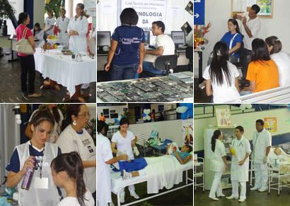 Feitec demonstra atribuições dos futuros profissionais pelo Senac Araxá