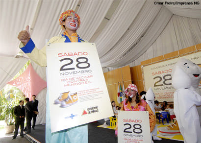 Minas lança primeira campanha estadual contra a meningite