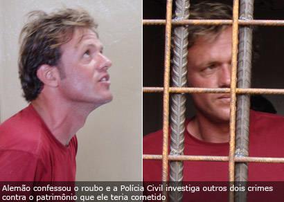 Assaltante de clínica de estética é preso pela Polícia Civil