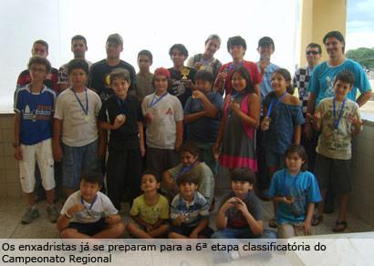 Araxá conhece os campeões municipais de Xadrez Rápido em 2009
