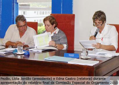 Comissão aumenta estimativa do Orçamento 2010 para R$ 117 milhões