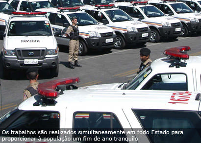 Operação Natalina reforça policiamento em Araxá