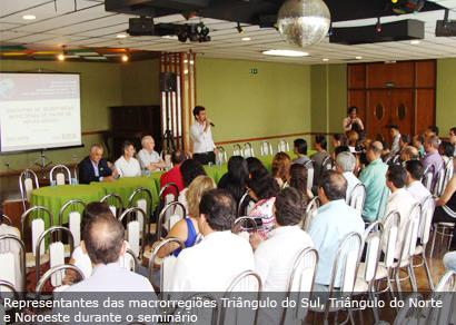 Araxá sedia o Seminário Macrorregional com o Fundo Nacional de Saúde