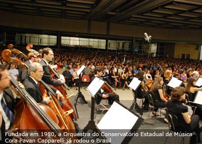 Orquestra Sinfônica de Uberlândia é uma das atrações de domingo em Araxá