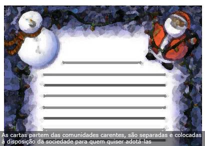 Campanha Papai Noel dos Correios termina no dia 18