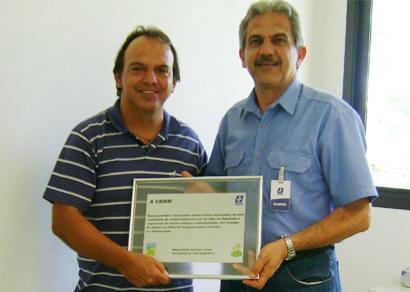 CBMM é agraciada pelo Jubileu de Prata do PCA