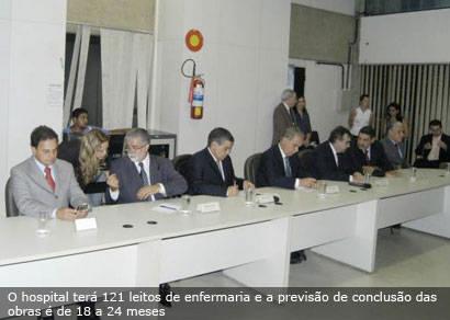 Araxá será beneficiada com a construção do Hospital Regional de Uberaba