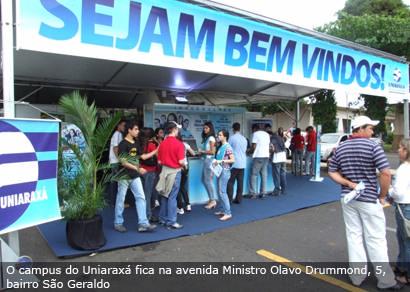 Uniaraxá abre inscrições para o Vestibular Especial 2010