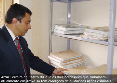 Defensoria Pública em Araxá adere à paralisação de uma semana