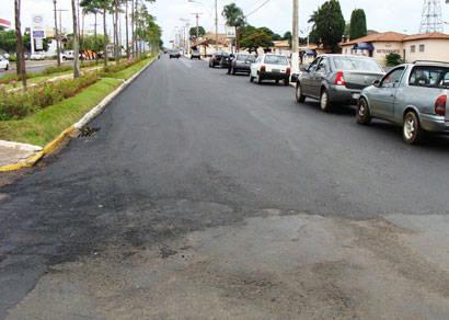 Avenida Imbiara recebe recapeamento