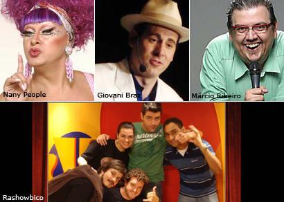 Fest Humor abre 2010 com cinco espetáculos no Grande Hotel