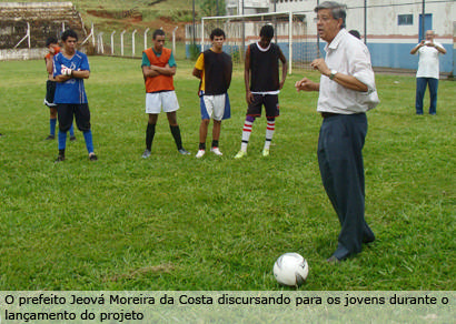 Araxá Esportivo é lançado para revelar jogadores de futebol