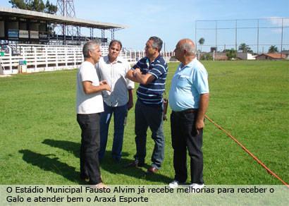Galo confirma mini pré-temporada em Araxá