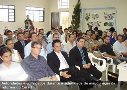 Cerad recebe melhorias para ampliar ressocialização de menores infratores