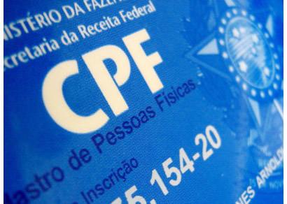 Pedido de CPF pela internet está previsto para iniciar neste trimestre