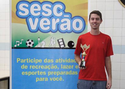 Alexandre Cobos é campeão araxaense de Xadrez Pensado 2009