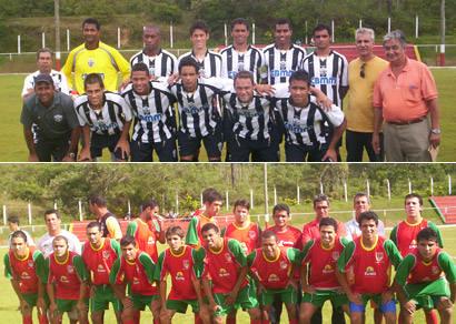 Araxá vence jogo-treino contra a Seleção de Tapira