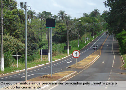 DER inicia a implantação de redutores eletrônicos em Araxá