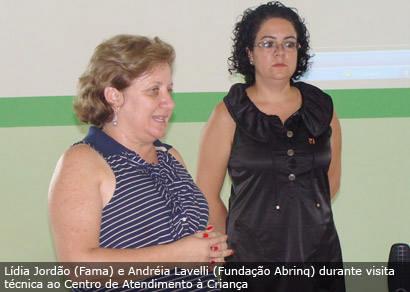 CAC viabiliza parceria com a Fundação Abrinq