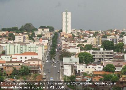 Débito de IPTU em Araxá soma R$ 25 milhões