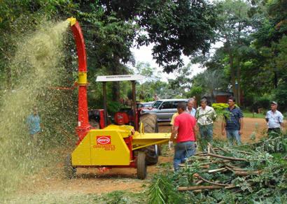 Casa do Pequeno Jardineiro recebe triturador de resíduos sólidos