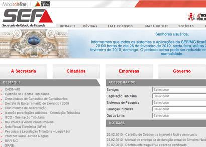 Certidões de Débitos Tributários podem ser retiradas pela internet