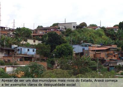 Bolsa Família retrata pobreza em Araxá