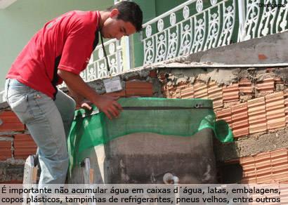 Casos de dengue sobem 150% em Araxá